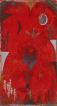 Paul_Klee_Flower_Myth_1918